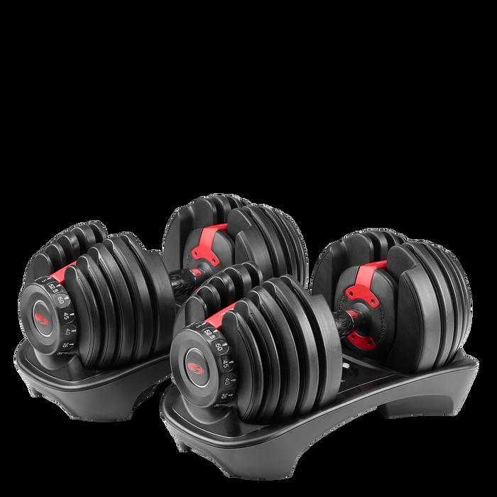 SelectTech 552 Adjustable Dumbbells