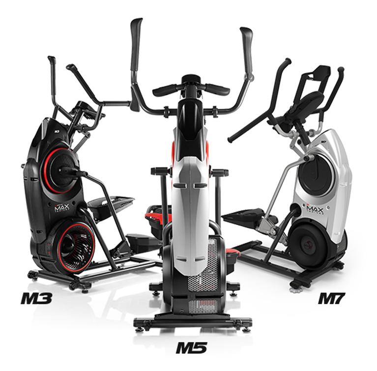 Compare the three Max Trainer models