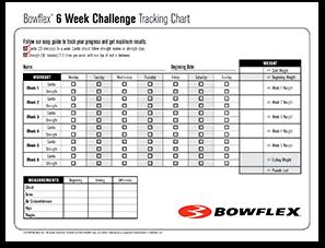 Six Week Bowflex Challenge PDF