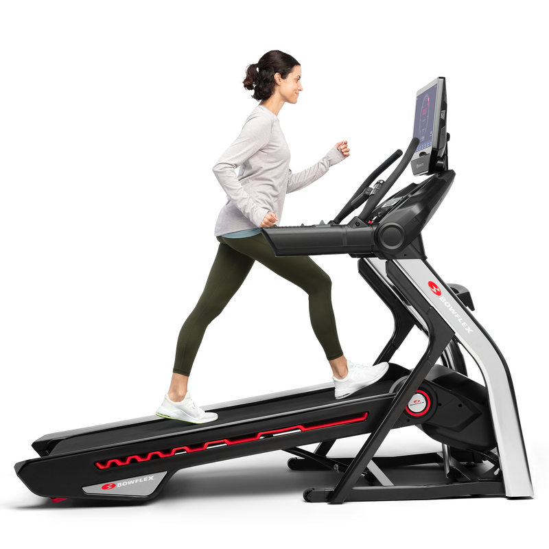 Treadmill 22 shown with incline - expanded view