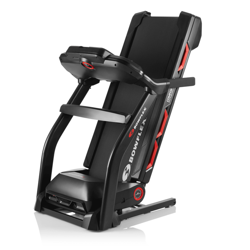 Bowflex Treadmill 7 Folded for Storage - expanded view