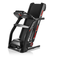 Bowflex Treadmill 7 Folded for Storage--thumbnail