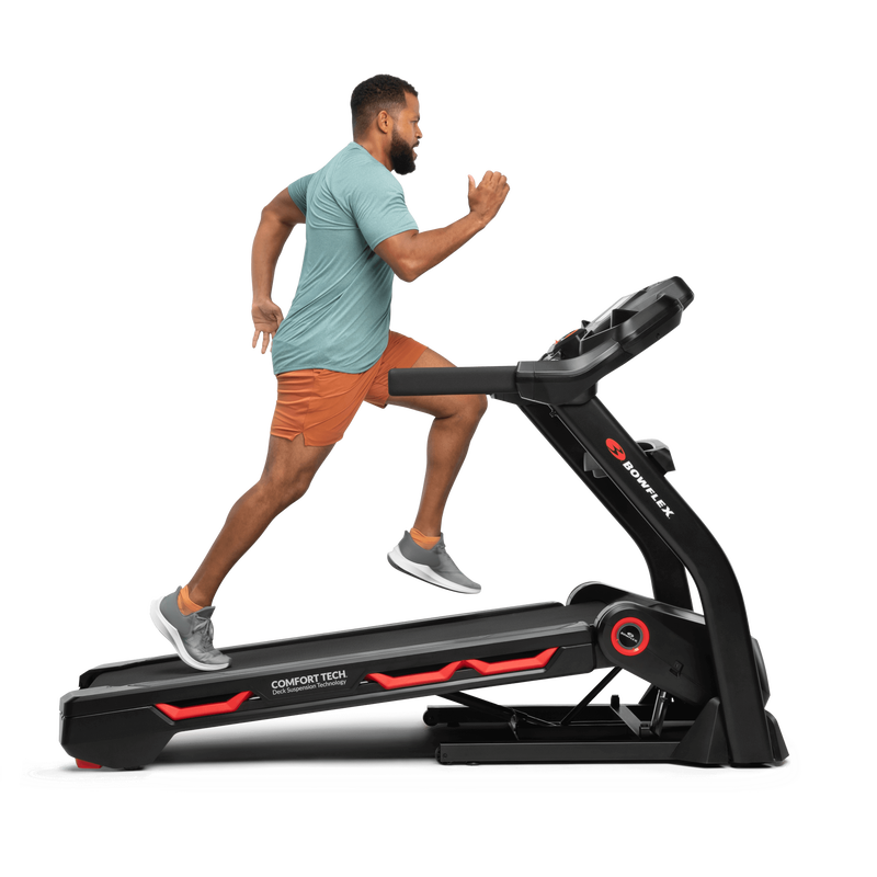 Incline workout on Bowflex Treadmill 7 - expanded view