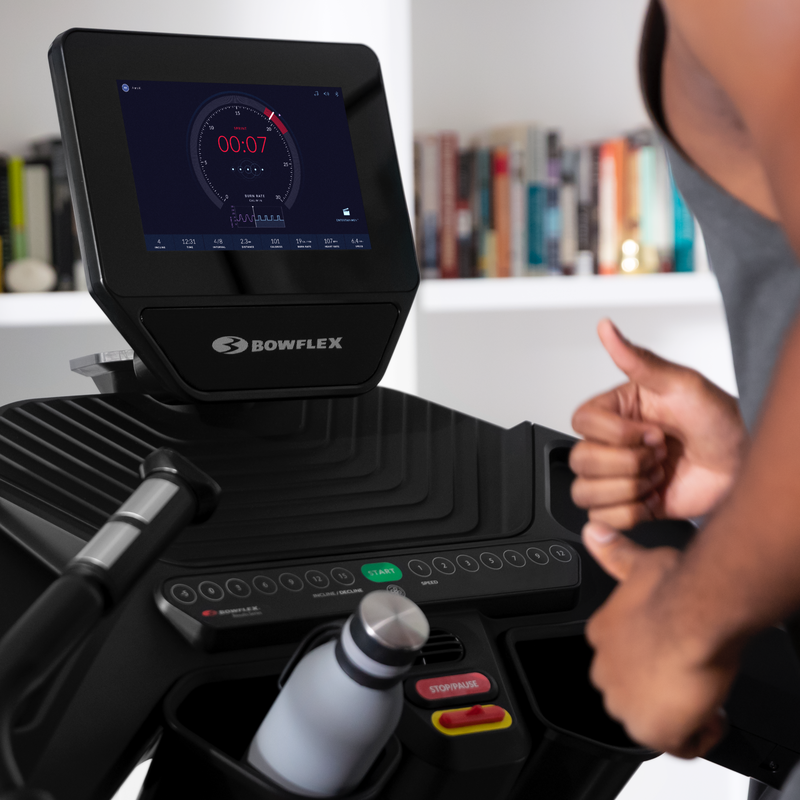 Treadmill 10 HD touchscreen. - expanded view