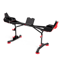 SelectTech 2080 Barbell Stand with Media Rack--thumbnail