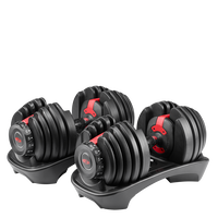 SelectTech 552 Adjustable Dumbbells--thumbnail