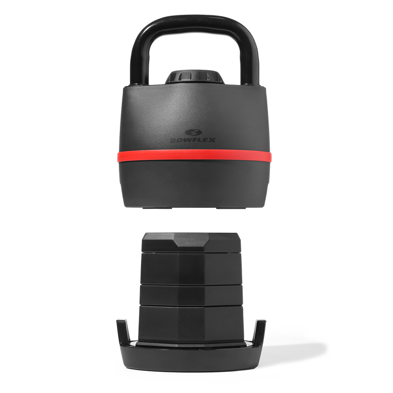 Adjustable Weight Kettlebell - expanded view