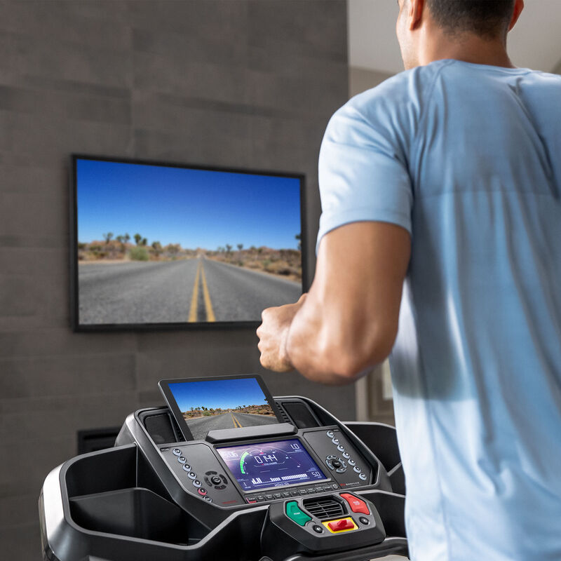 BXT216 Treadmill with Explore the World - expanded view