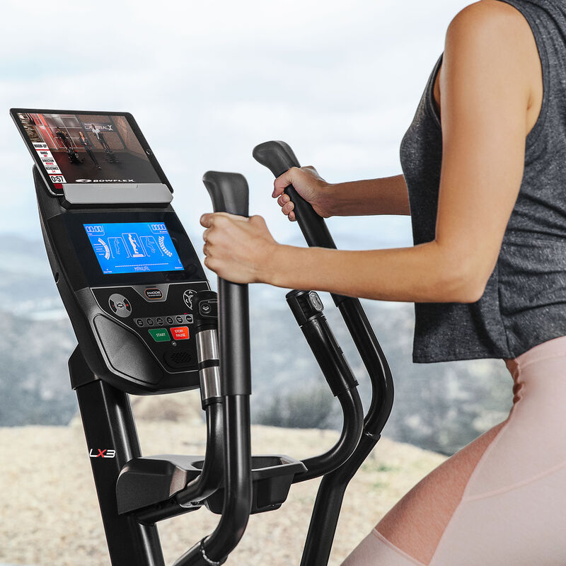 Bowflex LateralX LX3 Console - expanded view
