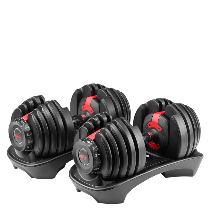 SelectTech 552 Adjustable Dumbbells