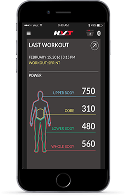 HVT App - Last Workout