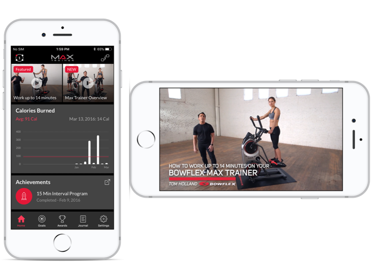 Max Trainer App - Connect