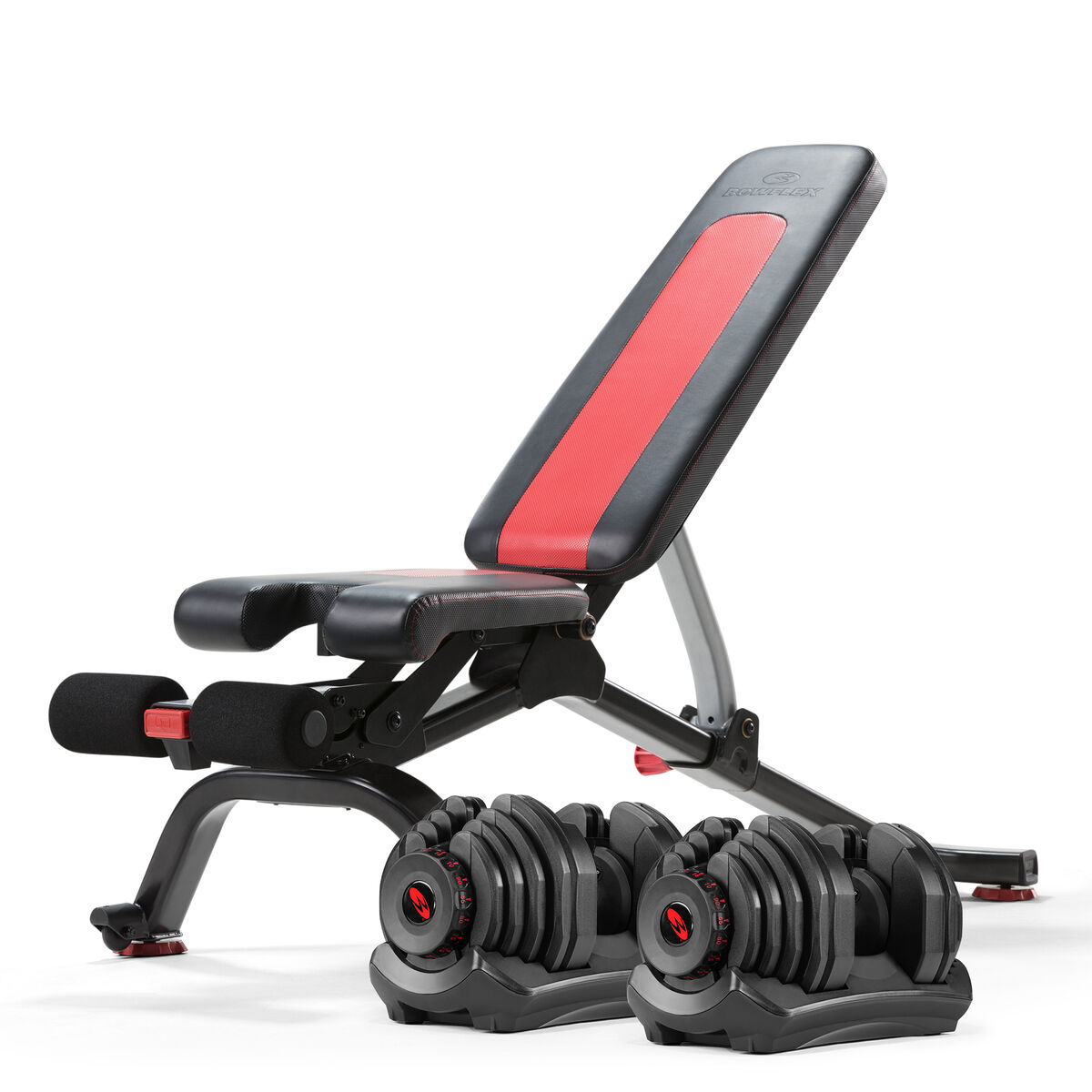Bowflex SelectTech 1090 Dumbbells with the 5.1S Bench