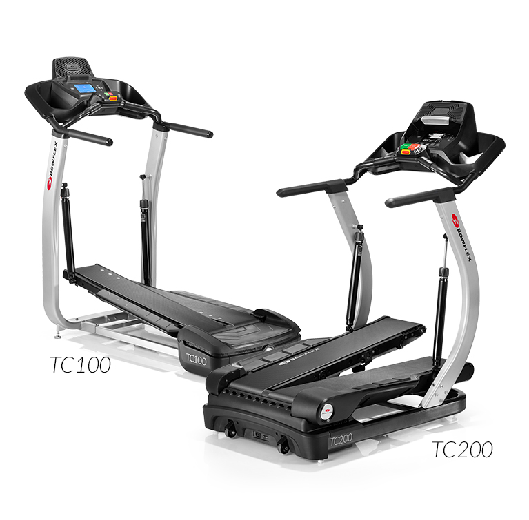 Compare the two TreadClimber models