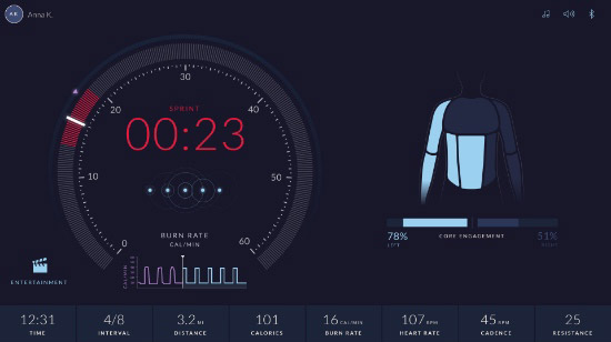 Workout Metrics - App Screenshot