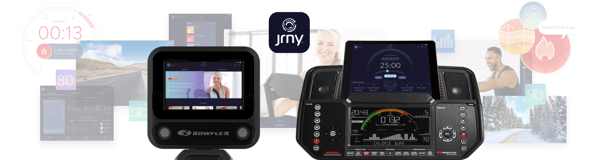 JRNY App - digital assets and screenshots