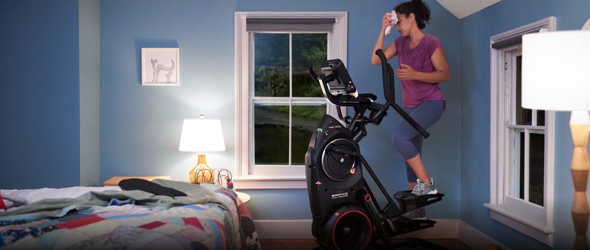 Max Trainer is small enough to fit in the corner of a child's bedroom