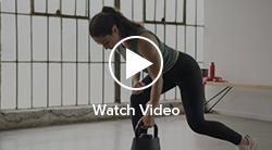 Bent over row video