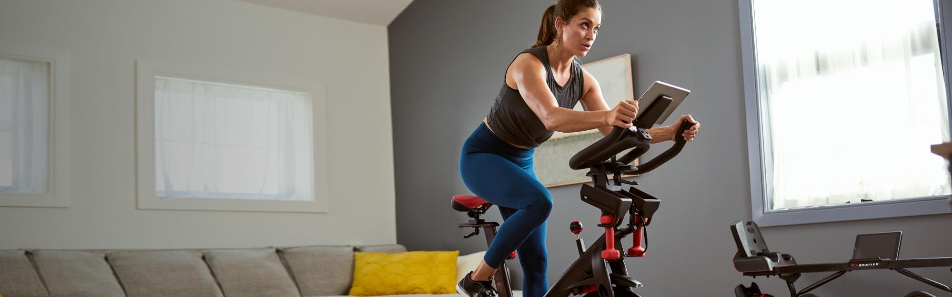 woman using a C6 Bike