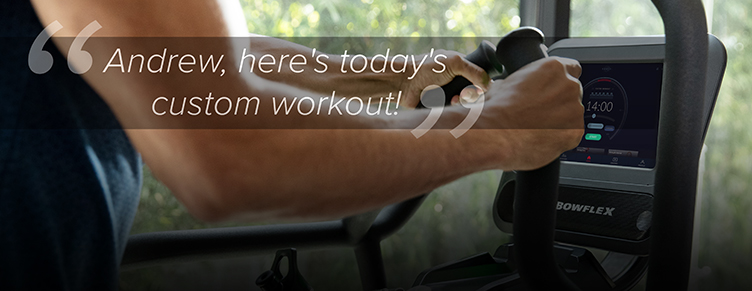 Andrew, here's today's custom workout!