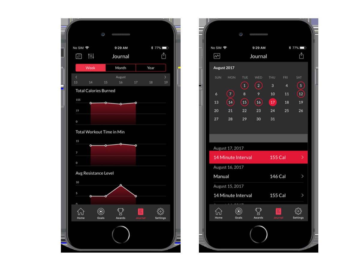 Max app journal