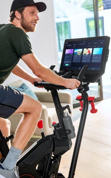 Man using a VeloCore bike