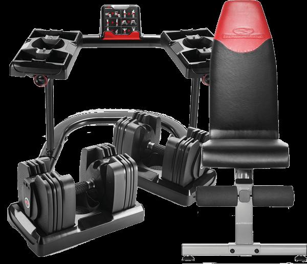 SelectTech 560 3DT Dumbbells