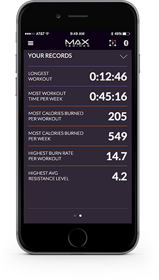 Max Trainer App - GOOGLE FIT APP
