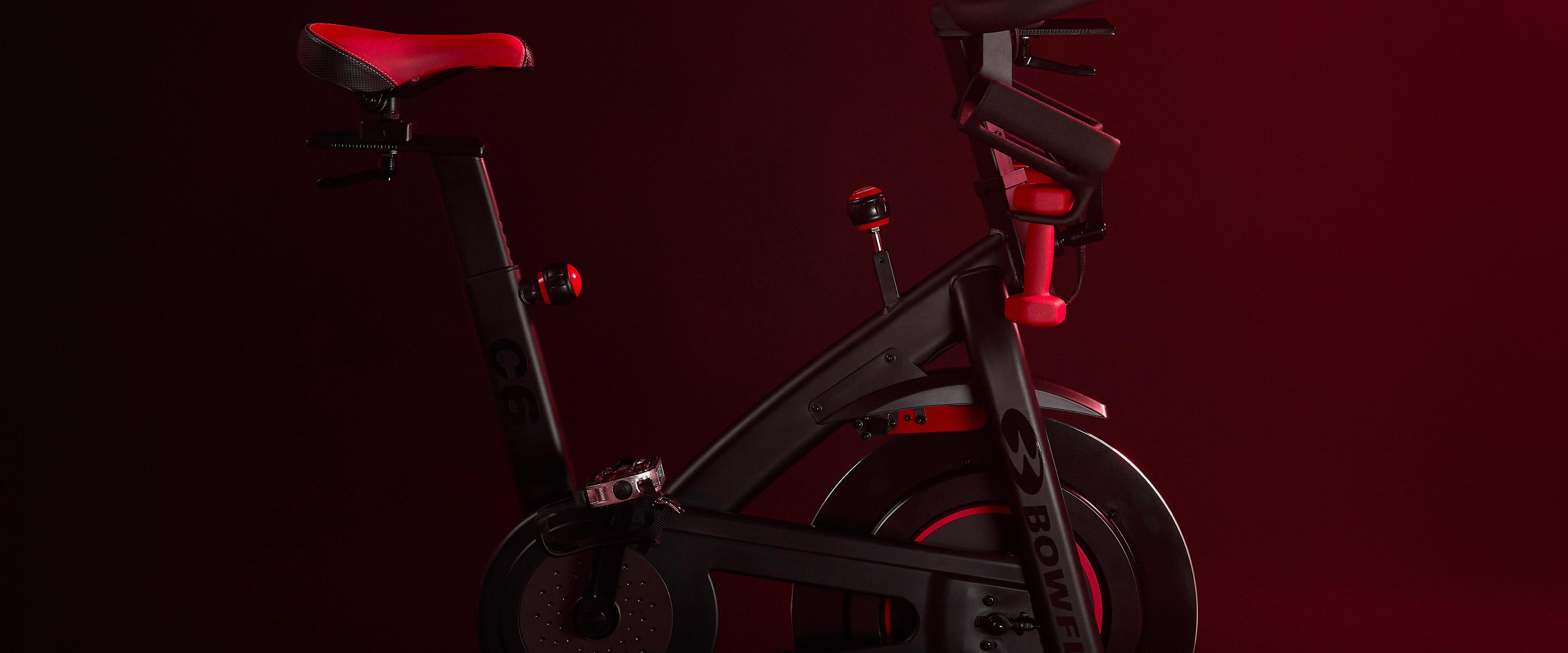 A Bowflex C6 Bike
