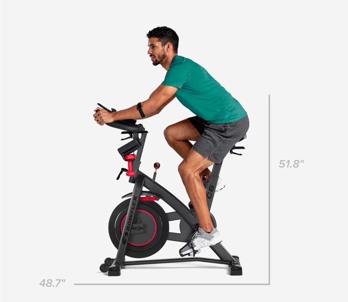C6 Bike Dimensions - Height 51.8 or 48.7 inches