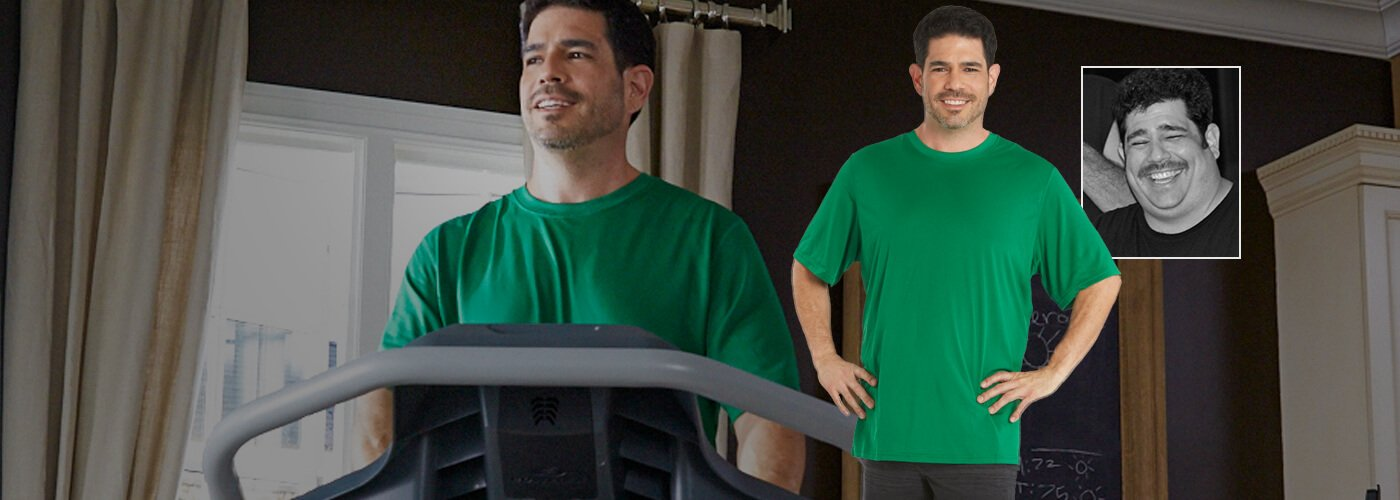 Ron lost 100 pounds with a TreadClimber