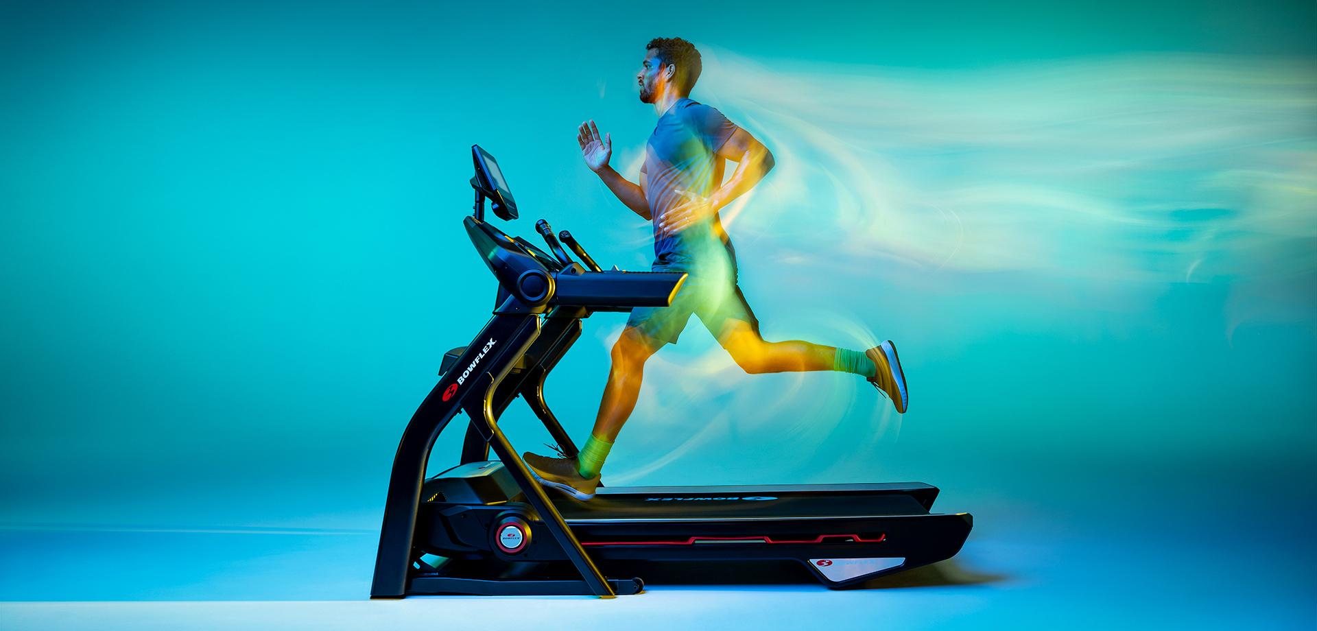 Man running on Treadmill 10