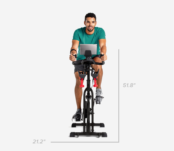 C6 Bike Dimensions - Width 21.2 inches