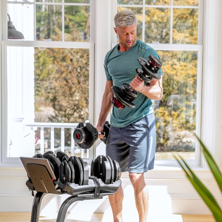 Benefits of SelectTech Adjustable Dumbbells