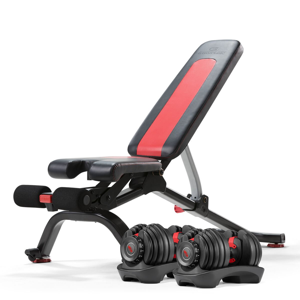Bowflex SelectTech 552 Dumbbells with the 5.1S Bench