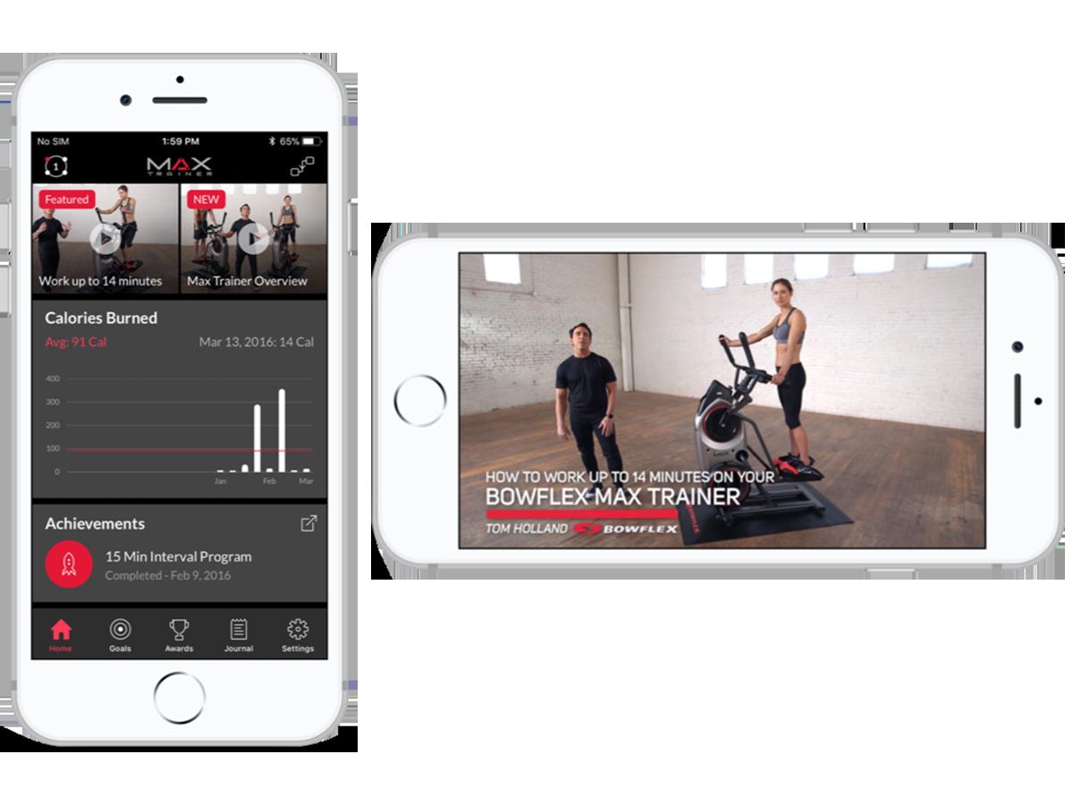 Max Trainer App - Connect