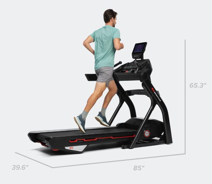 Treadmill 10 dimensions - 85 x 39.6 x 65.3 inches