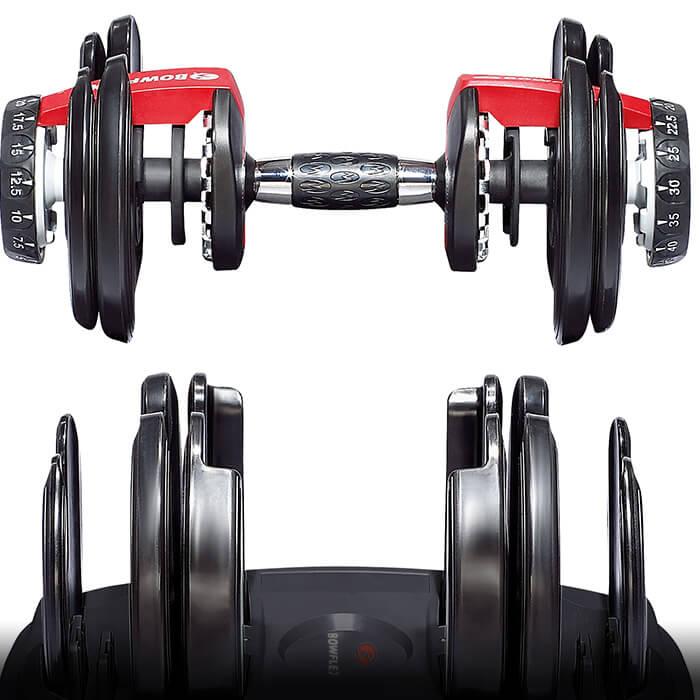 Bowflex Treadclimber Weight Loss: Bowflex SelectTech 552 Dumbbells